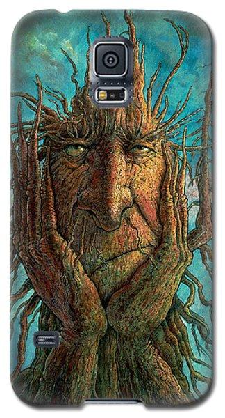 Fantasy Galaxy S5 Case - Lightninghead by Frank Robert Dixon