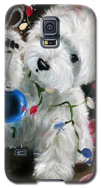 Lights And Balls Galaxy S5 Case