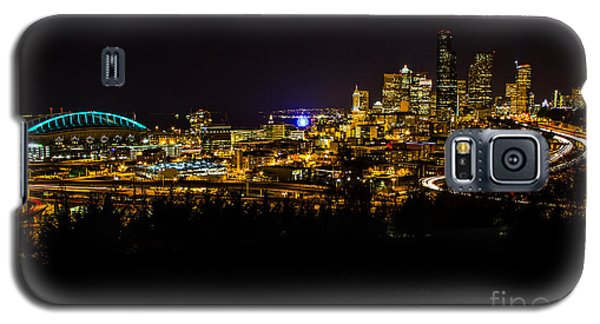 Lights Of Seattle Galaxy S5 Case