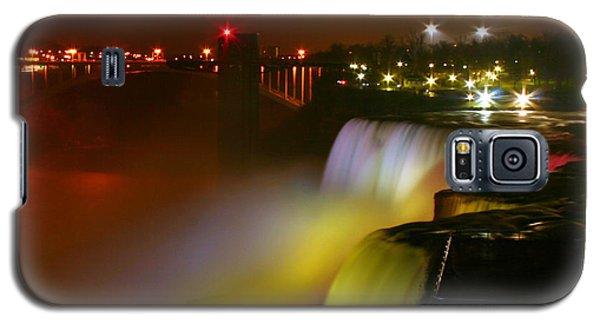 Lights On Niagara Falls Galaxy S5 Case