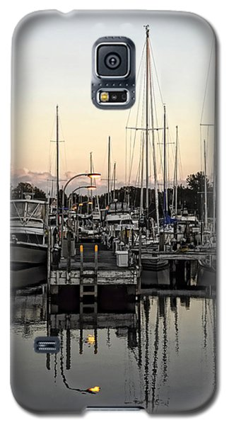 Galaxy S5 Case featuring the photograph Lights On by Sami Martin