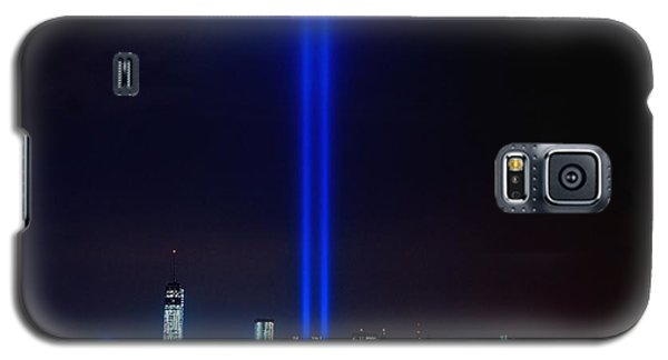 Lights Over Nyc Galaxy S5 Case