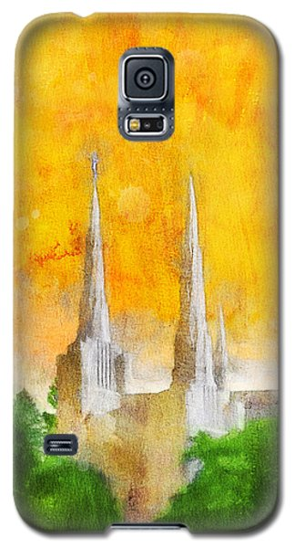 Like A Fire Is Burning Galaxy S5 Case by Greg Collins