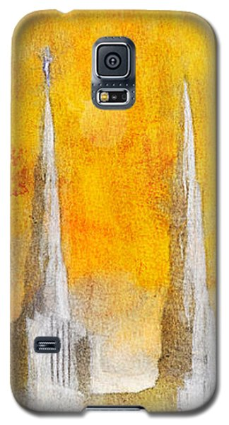 Like A Fire Is Burning - Panoramic Galaxy S5 Case