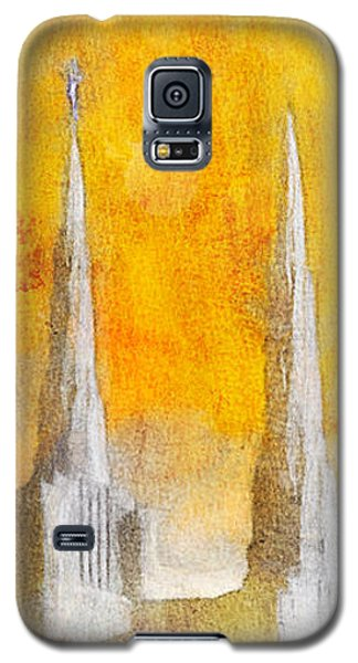 Like A Fire Is Burning - Panoramic Galaxy S5 Case by Greg Collins