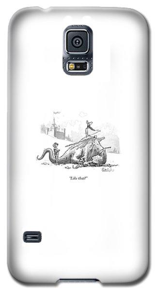 Dragon Galaxy S5 Case - Like That? by Liam Walsh