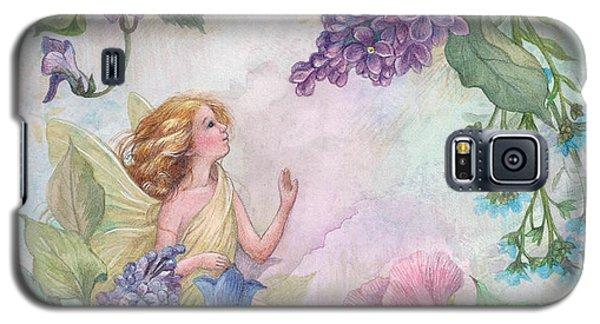 Lilac Enchanting Flower Fairy Galaxy S5 Case