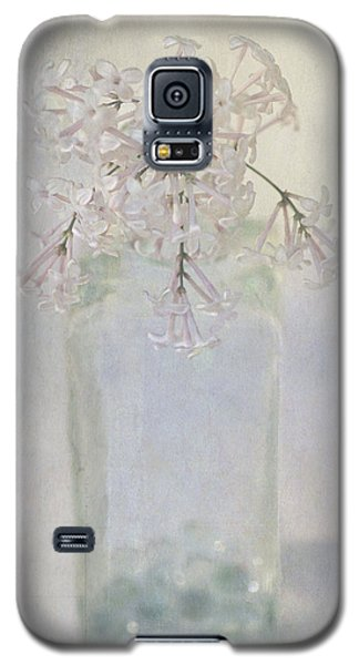Galaxy S5 Case featuring the photograph Lilac Flower by Annie Snel