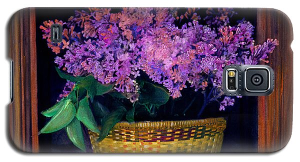 Lilacs Framed Galaxy S5 Case