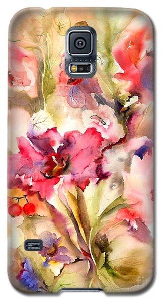 Lilies Galaxy S5 Case by Neela Pushparaj