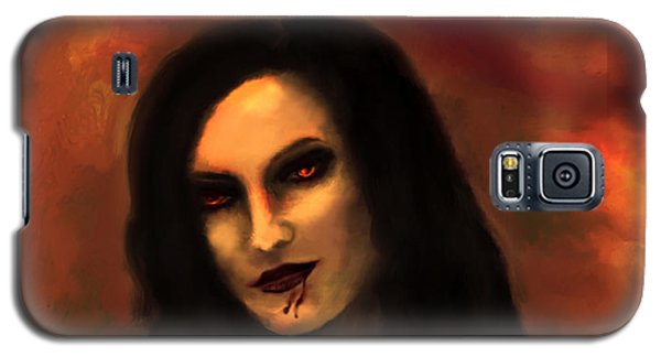 Galaxy S5 Case featuring the painting Lilith by Persephone Artworks