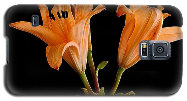 Galaxy S5 Case featuring the photograph Lilium Flowers by Marwan Khoury