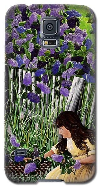 Lillian's Lilacs Galaxy S5 Case