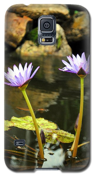 Lillies Of The Pond Galaxy S5 Case