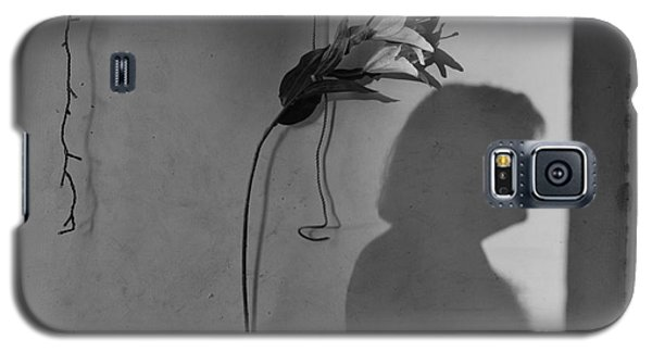 Lily And Male Figure Shadow Galaxy S5 Case