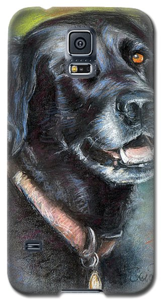 Lily- Black Labrador Retriever Galaxy S5 Case