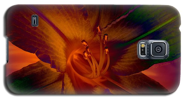 Galaxy S5 Case featuring the photograph Lily Colors by WB Johnston