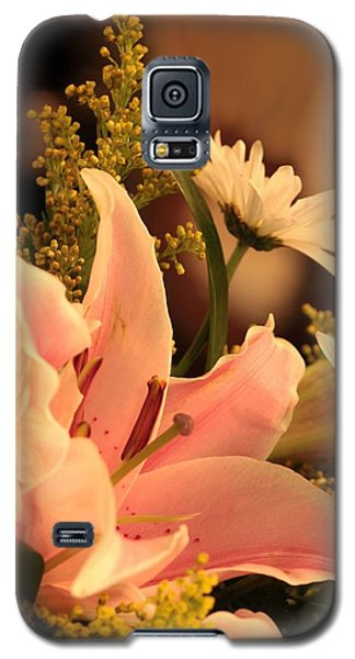 Lily In Pink Galaxy S5 Case
