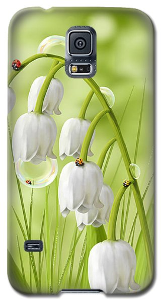 Lily Of The Valley Galaxy S5 Case by Veronica Minozzi