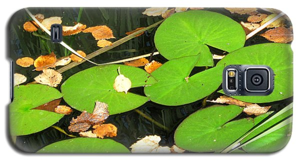 Galaxy S5 Case featuring the photograph Lily Pads by Mary Bedy