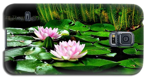 Galaxy S5 Case featuring the photograph Lily Pond by John S