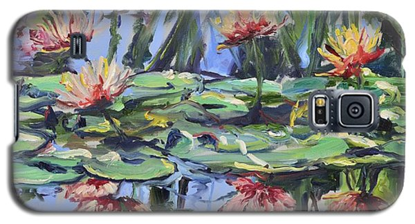 Lily Pond Reflections Galaxy S5 Case