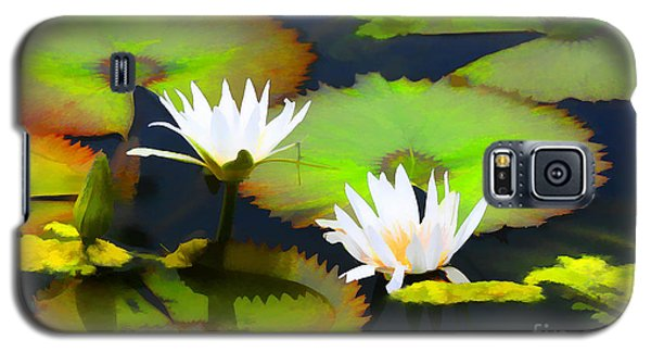 Lily Pond Bristol Rhode Island Galaxy S5 Case by Tom Prendergast