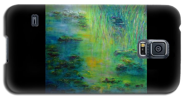 Lily Pond Tribute To Monet Galaxy S5 Case