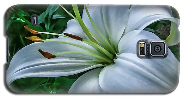 Galaxy S5 Case featuring the photograph Lily by Skip Tribby