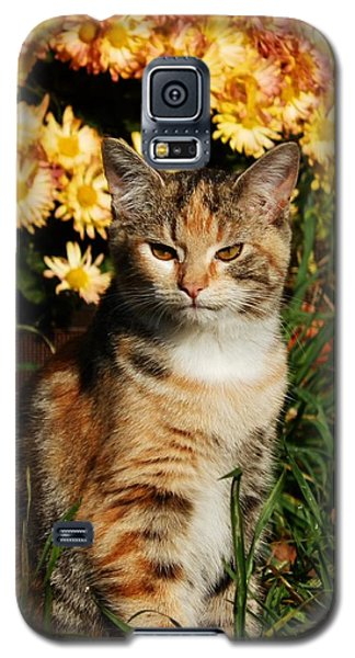 Lily With Harvest Mums Galaxy S5 Case