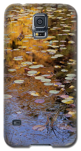 Lilypads And Reflection Galaxy S5 Case