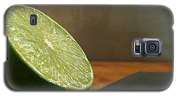 Galaxy S5 Case featuring the photograph Lime Blade by Joe Schofield