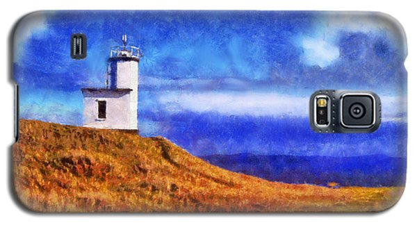 Galaxy S5 Case featuring the digital art Lime Kiln by Kaylee Mason