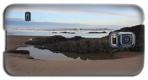 Lincoln City Beach Galaxy S5 Case by Karen Molenaar Terrell