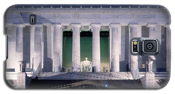 Lincoln Memorial At Dusk, Washington Galaxy S5 Case by Panoramic Images