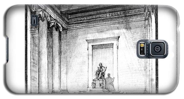 Lincoln Memorial Sketch IIi Galaxy S5 Case