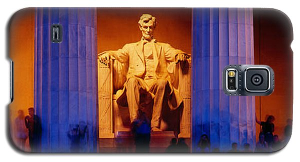 Lincoln Memorial, Washington Dc Galaxy S5 Case by Panoramic Images
