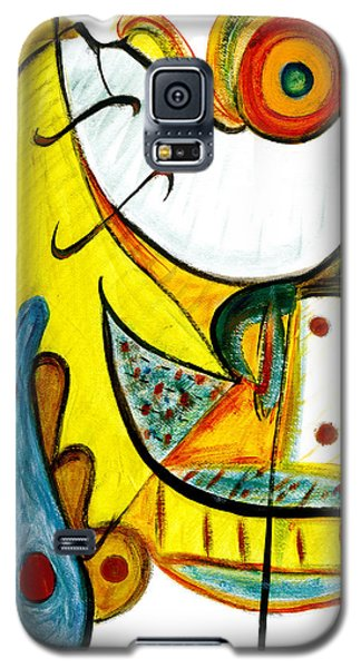 Galaxy S5 Case featuring the painting Linda Paloma by Stephen Lucas