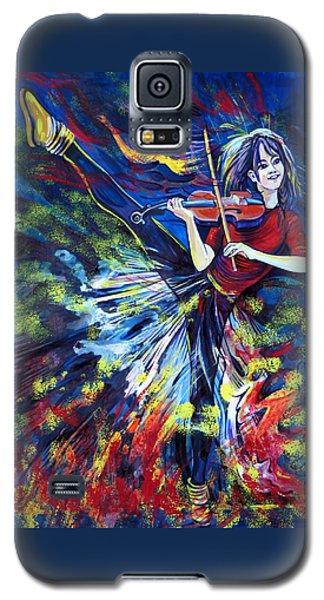 Lindsey Stirling. Dancing Violinist Galaxy S5 Case
