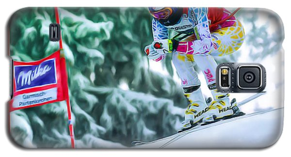 Lindsey Vonn Galaxy S5 Case by Don Olea
