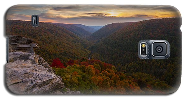 Lindy Point Sunset At Blackwater Falls In West Virginia Galaxy S5 Case