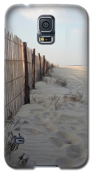 Galaxy S5 Case featuring the digital art Line In The Sand by Kelvin Booker