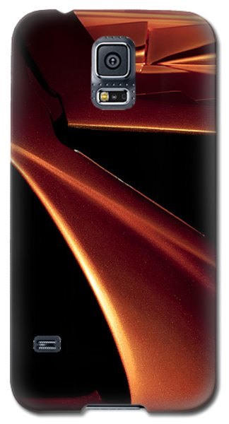 Lines Of Lamborghini - Abstract Auto Art Galaxy S5 Case by Steven Milner
