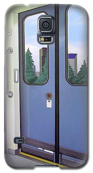Galaxy S5 Case featuring the painting Link Light Rail Seattle by Jude Labuszewski