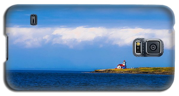 Light House In British Columbia Galaxy S5 Case