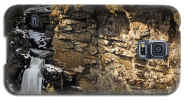 Galaxy S5 Case featuring the photograph Linville Falls by Serge Skiba