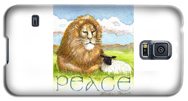 Lion And Lamb - Peace  Galaxy S5 Case