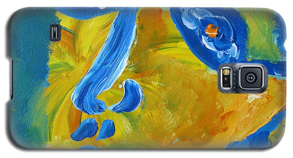 Lion Eyes  Galaxy S5 Case by Shea Holliman