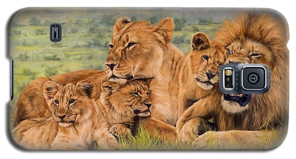 Lion Family Galaxy S5 Case