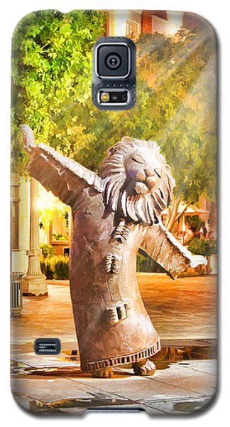 Lion Fountain Galaxy S5 Case by Chuck Staley